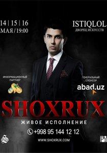 Shoxrux 2018 - Yilgi Konsert Dasturi